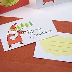 オリジナル クリスマスカード